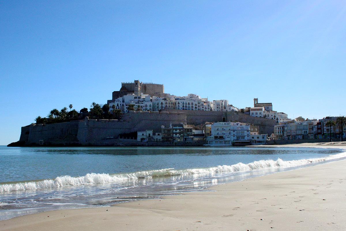 Peñíscola, ciudad en el mar